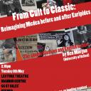 from cult to classic reimagining medea before and after euripides 8 may poster