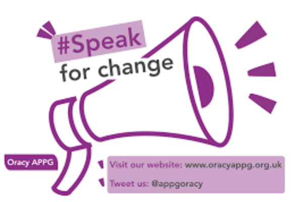 speak for change image