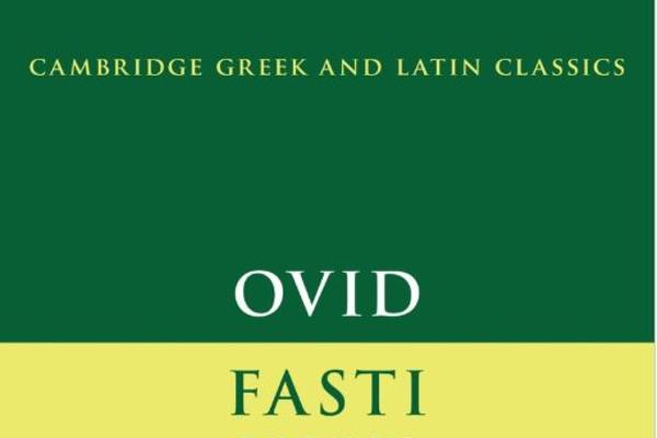 ovid fasti book 3 cover