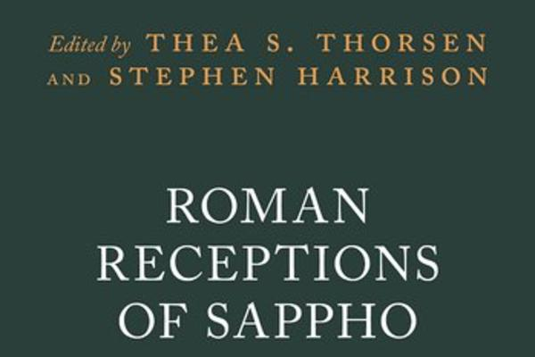 roman receptions of sappho cover