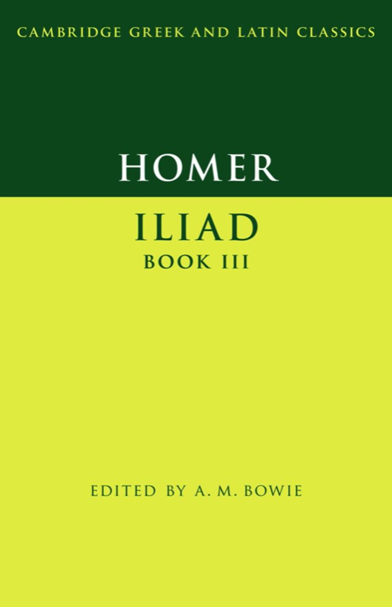 homer iliad book iii