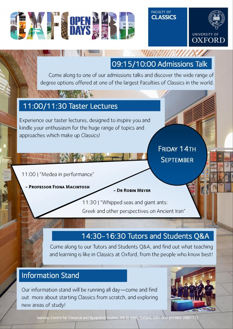 sept18 open day poster image