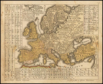 europe map lingua
