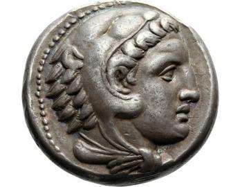 Silver tetradrachm, Alexander III, Macedonia
