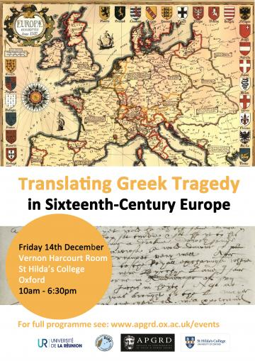 translating greek tragedy in 16th century europe